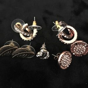 Earrings Lot Michael Kors, Juicy Couture, and More